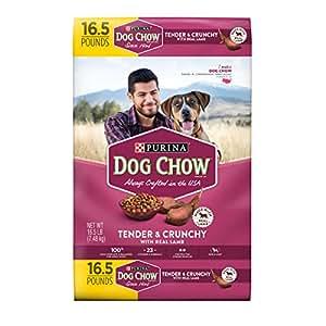 Amazon.com: Purina Dog Chow Dry Dog Food; Tender & Crunchy