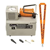Champion Sports Economy Electric Inflating Pump Grey with 1 Performall Lanyard EP110-1P