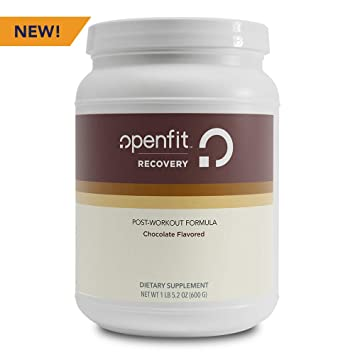 Openfit Recovery Chocolate Flavored Post-Workout Formula w/Whey Protein  Isolate, Tart Cherry, No Artificial
