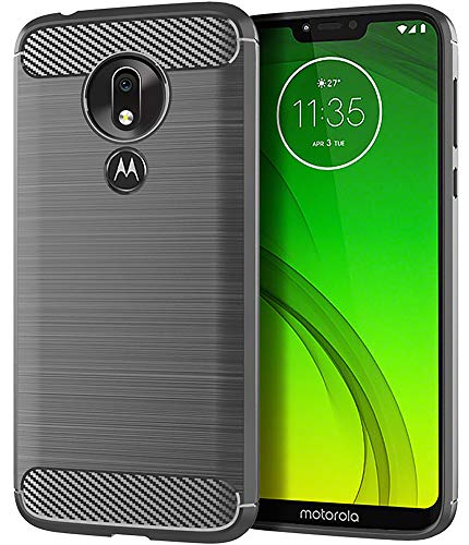 Asmart Moto G7 Power Case,Moto G Power 7th gen Case,Moto G7 Supra Case, Shock Absorption Moto G7 Power Phone Case Slim TPU Cover Flexible Protective Case for Motorola Moto G7 Power/Moto G7 Supra,Gray