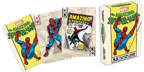 Aquarius Marvel Comics The Amazing Spiderman Playing Cards