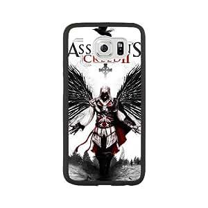 Ezio Auditore da Firenze S2I3QU6P Caso funda Samsung Galaxy S6 Caso funda Negro