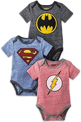 Newborn Infants Superman Costume Bodysuit product image