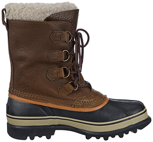 Sorel Caribou - Botas de nieve para hombre Marrón  (Olive Brown, Dark Ginger 334)
