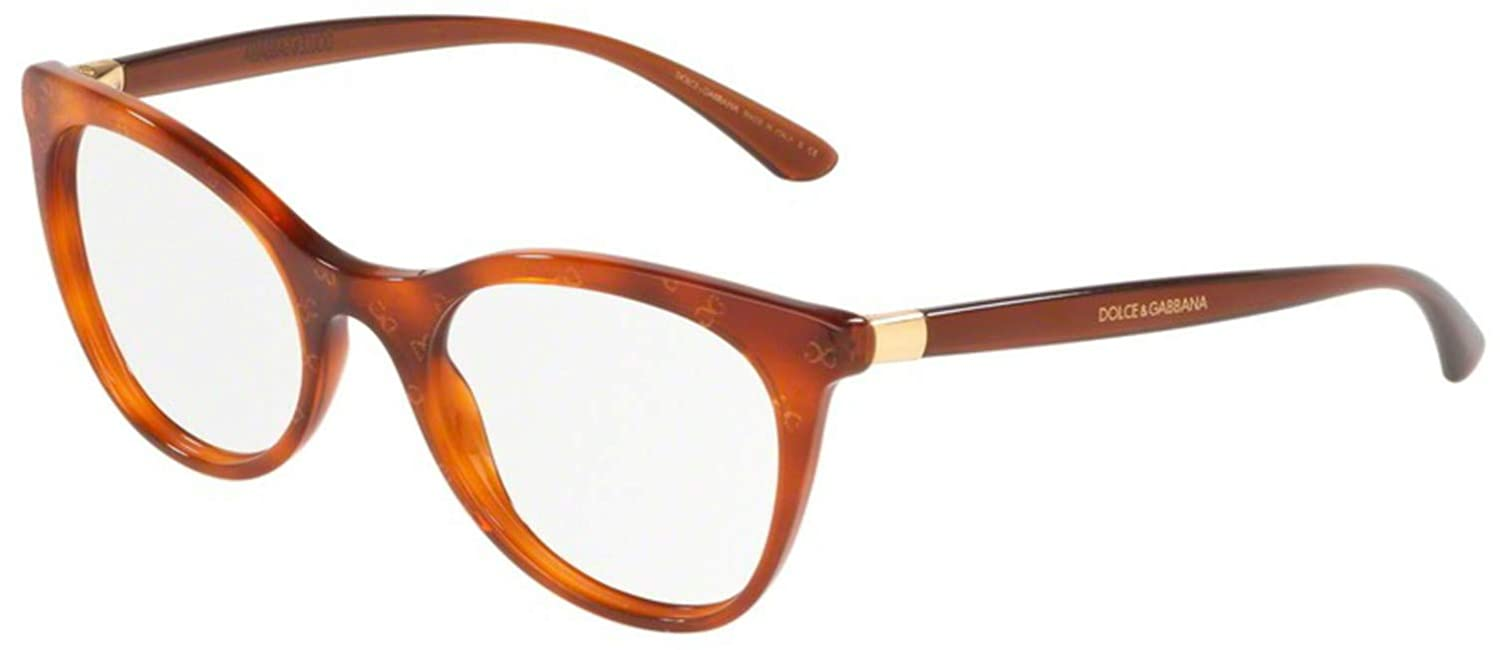 Eyeglasses Dolce /& Gabbana DG 3312 3212 HONEY HAVANA GOLD