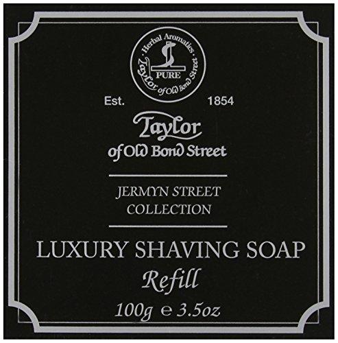 Taylor of Old Bond Street Jermyn Street Shaving Soap Refill - Soap Sandalwood Taylor