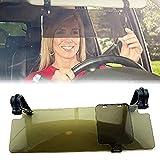 2 in 1 Car Truck Automobile Sun Glare Blocker Visor Day and Night Non Glare Anti-Dazzle Sunshade Mirror Goggles Shield (2)