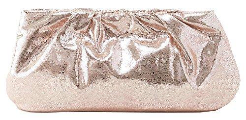 Hobo Women's Garland Platinum Exotic Clutch by HOBO