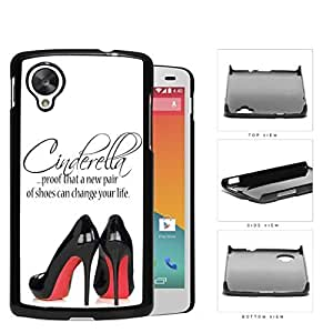A New Pair Of Shoes Cinderella Quote Hard Plastic Snap On Cell Phone Case LG Nexus 5 by icecream design