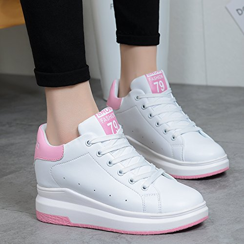 GUNAINDMXShoes/Shoes/Shoes/Shoes/All-Match/Spring/Winter/Running Shoes White pink (713)