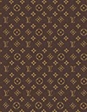 img - for Louis Vuitton - Monogram Notebook: College Ruled Writer's Composition Notebook for School, Office, or Home! book / textbook / text book