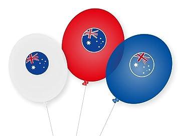 9 Globos * Australia * como decoración para Fiesta temática ...