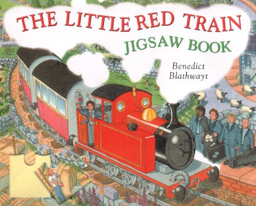 Little Red Train (The Little Red Train Jigsaw Book)