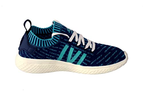 b4fdbded1669 JQR Men s Sports Shoes Blue Green-10  Buy Online at Low Prices in ...