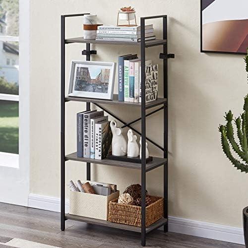 MNEETRUNG Small Bookshelf