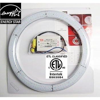 Amatron Etl Amp Energy Star Listed 12 Quot T9 Led Circline 18w