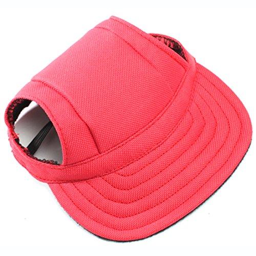 Petfellow Pet Baseball Cap Dog Cap Outdoor Dog Sun Visor Sport Cap Adjustable Chin Strap Pet Hat