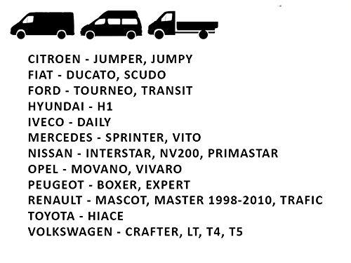 Housse Couverture Couvre Sieges pour Camion Camionnette Van Bus 2 IVATECH Housses de sieges universelles 1 Noir Gris
