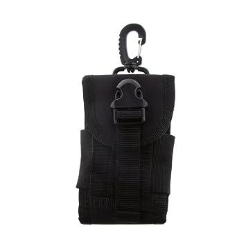 ab54c0b91acd Générique Tactical Sac Pochette Ceinture Téléphone Universal Flip Hook  Mousqueton - Noir