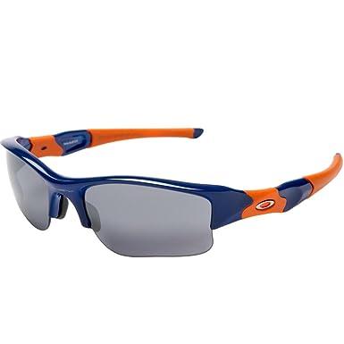 c97b5c072bb Oakley New York Mets Flak Jacket XLJ Men s Special Editions Major League  Baseball Lifestyle Sunglasses