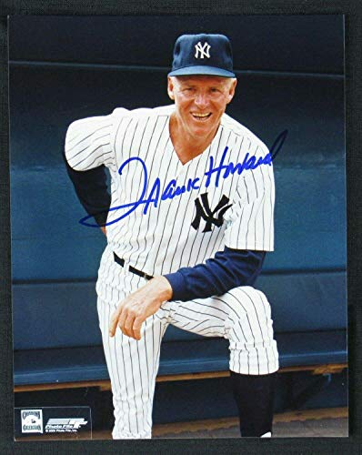 Frank Howard Signed Picture - 8x10 V - Autographed MLB Photos