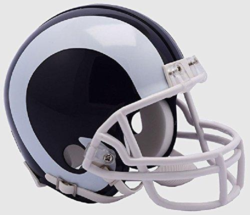 Riddell NFL Los Angeles Rams New 2017 Logo Replica Mini Football Helmet ()