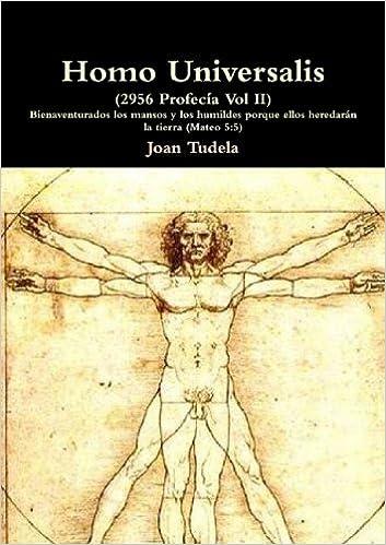 Homo Universalis Spanish Edition Joan Tudela  Amazon Com Books
