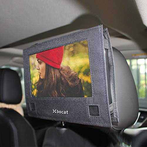 Xbocat Car Headrest Mount for Swivel & Flip Style Portable DVD Player – 9 to 9.5 inch