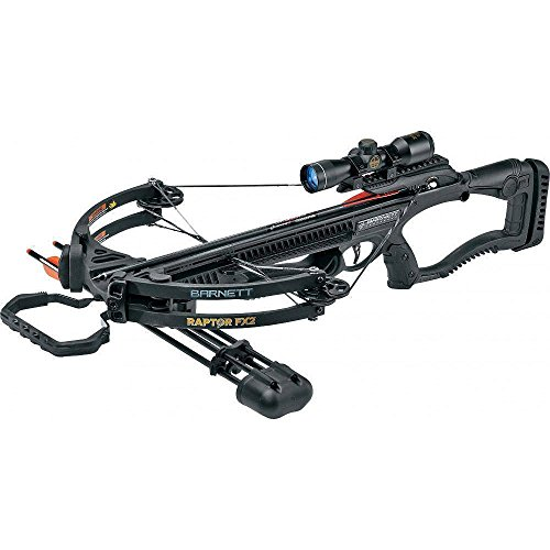 barnett Black Raptor FX2 Deluxe Crossbow Package 78226
