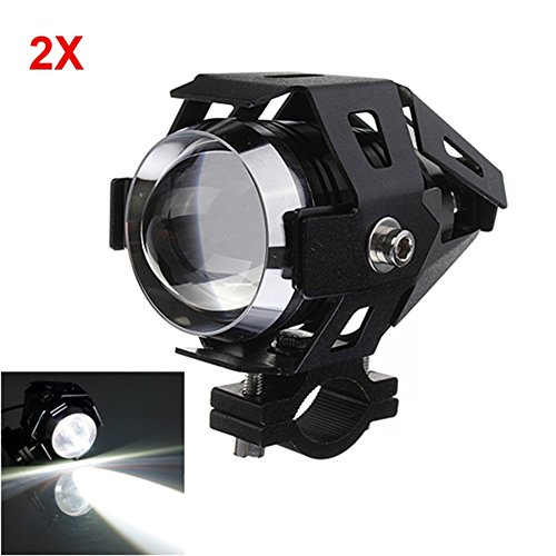 MyZenStore 2pcs U5 LED Headlight 3000LM Waterproof Hi/Lo High Power Spot - Shop Spy Dallas