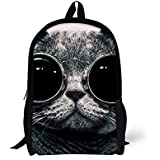 Bigcardesigns Fashion Animal Backpack Book Bag for Teenagers
