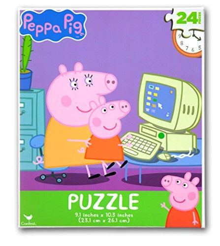 10 Pig Piece (Peppa Pig 24 Piece Puzzle)