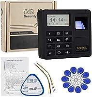 HFeng Sistema de control de acceso por huella digital Teclado RFID ...