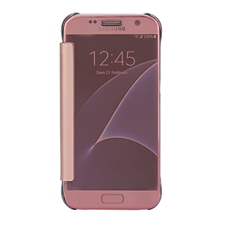 TGK® Samsung Galaxy S7 Case,Mirror Smart Clear View  Amazon.in  Electronics 7ebbc391086a