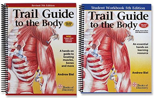 Muscle Guide - Trail Guide to the Body Textbook & Student Workbook Set - 5th Edition by Books of Discovery