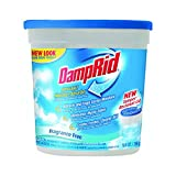 DampRid Refillable Moisture Absorber 10.5 OZ. (5 Pack) Helps Prevent Mildew, Mold, and other musty odors || Made in USA
