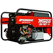 Winco HPS9000VE Home Power Portable Generator, 9,000W Maximum, 267 lb.