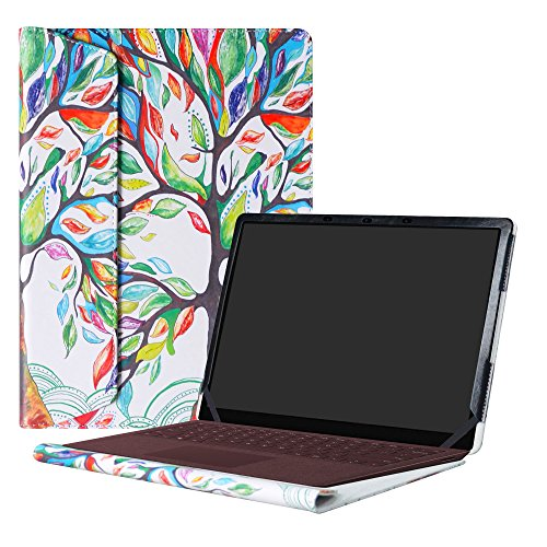 Alapmk Protective Case Cover For 13.5 Microsoft Surface Laptop & Surface Laptop 2 2018 & Surface Laptop 3 2019 (Not fit Surface Laptop 3 15 inch & Surface Book/Surface Pro),Love Tree