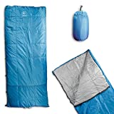 Cheap Outdoor Vitals OV-Roost 40°F UnderQuilt / Sleeping Bag, Use As Ultralight UnderQuilt, Sleeping Bag, or Double Bag (40°F / Blue, Regular)