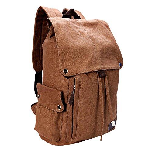 Travel Outdoor Computer Backpack Laptop bag 15.6'' (brown) - 6