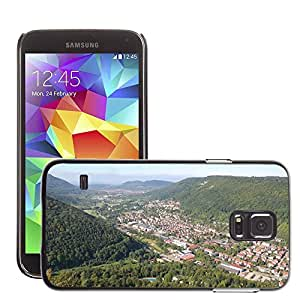 Hot Style Cell Phone PC Hard Case Cover // M00170289 Bad Urach Valley Urach Hanner Rocks // Samsung Galaxy S5 S V SV i9600 (Not Fits S5 ACTIVE)