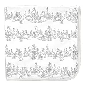 Magnificent Baby Modal Swaddle Blanket White