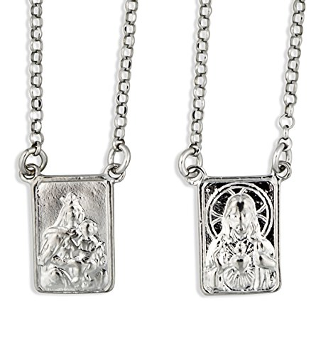 Sterling Silver First Communion Scapular by Vatican Imports