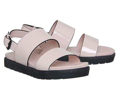 ece076168 Office Optic Double Strap Sling Sandal Nude UK 6  Amazon.co.uk  Shoes   Bags