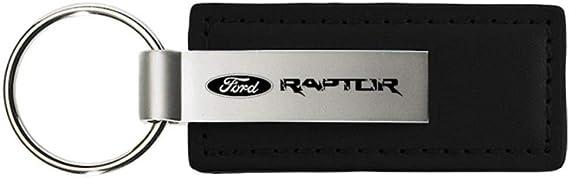 Genuine Ford Raptor Logo Metal Chrome Tear Drop Key Chain Ring Fob