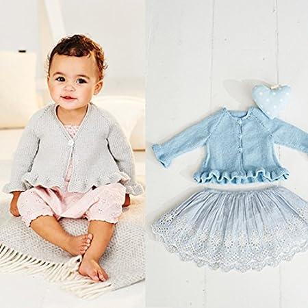 Stylecraft Baby Cardigans Bambino Knitting Pattern 9501 Dk Amazon