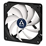 ARCTIC F12 TC - Temperature-Controlled 120 mm Case Fan | Standard Case Cooler | intelligent Heat Detector regulates RPM | Push- or Pull Configuration