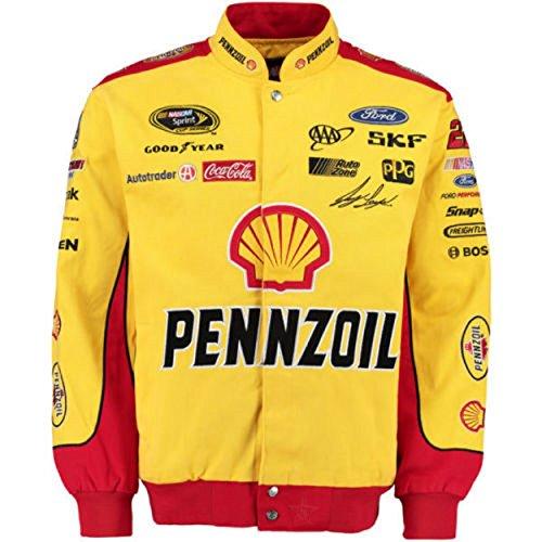 Jacket Nascar Twill Red - Joey Logano Pennzoil NASCAR Jacket Size 4XLarge