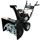 Power Smart DB7651A 26-inch 208cc LCT Gas Powered 2-Stage Snow Thrower with Electric Start