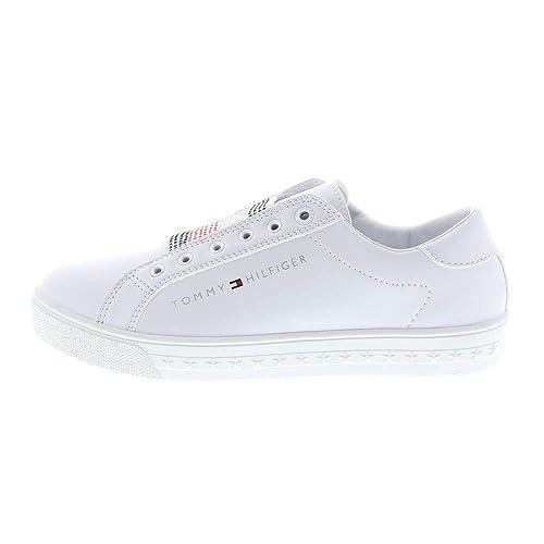 Tommy Hilfiger Sneaker Gr.33 für Mädchen weiss